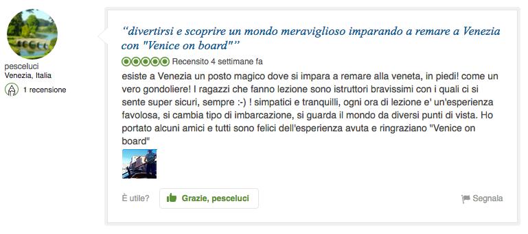 Venice On Board